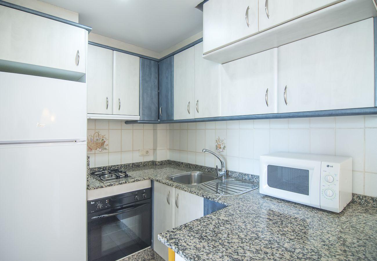 Appartement à Calpe - PARAISO MAR 1 DORMITORIO