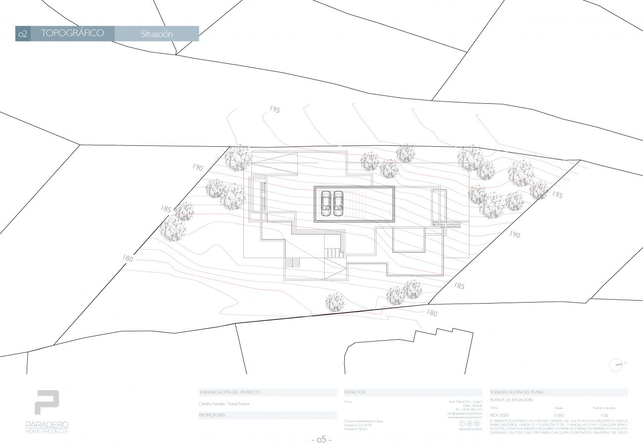 villa à Teulada - PROYECTO EXCLUSIVO DE LUJO MORAIRA